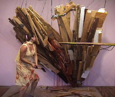 Kate Gilmore - Steve Turner Contemporary Gallery