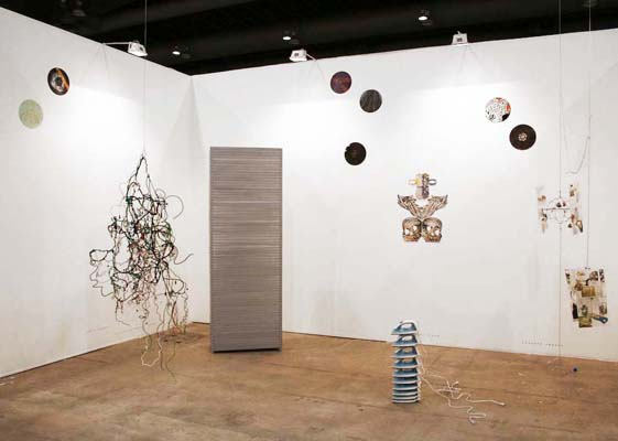 ZONA MACO, Installation view, Steve Turner Contemporary, April 2009, Mexico City