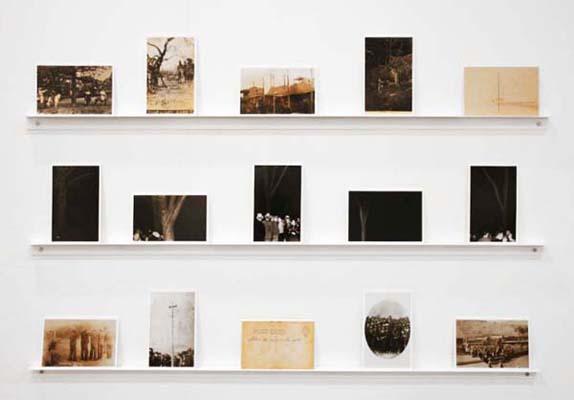 Ken Gonzales-Day Erased Postcards 2002-6. Ektachrome print (Set of 15 images), Edition 4 of 6 (plus 2 APs), 6 x 3 3/4 inches each.