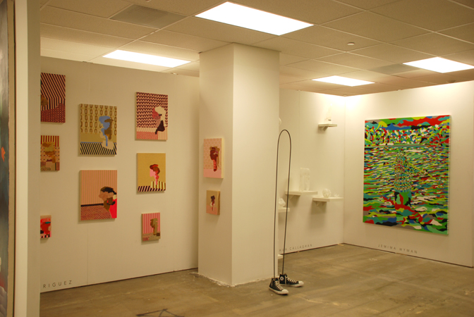 Art Los Angeles Contemporary, Installation view, Steve Turner Contemporary, January 2010.