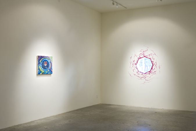 Pearl C. Hsiung Installation view, Steve Turner Contemporary, October 2010.
