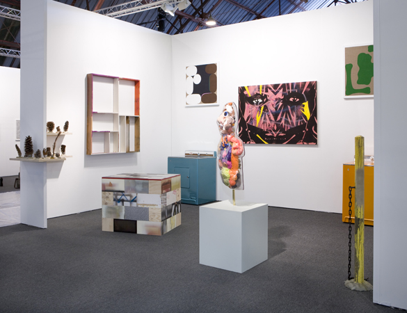 Art Los Angeles Contemporary, Installation view, Steve Turner Contemporary, Booth B12, January 2010.