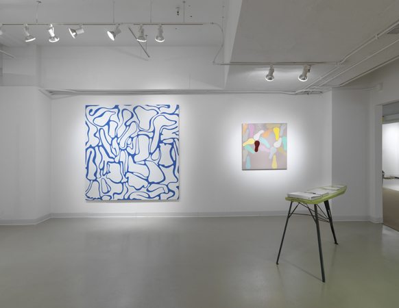 Ronnie Hughes. Installation View, Steve Turner Contemporary, Booth 12-37, April 2011