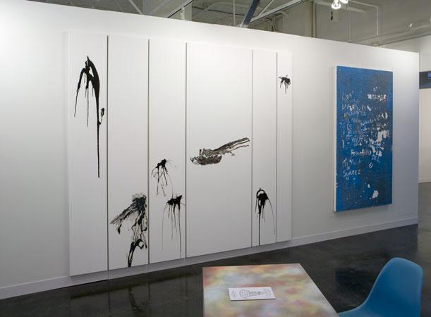 Art Platform 2011, Installation view, Steve Turner Contemporary, Booth 215, October 2011.