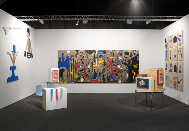 Art Los Angeles Contemporary, Installation View, Steve Turner Contemporary, Booth C15, January 2012