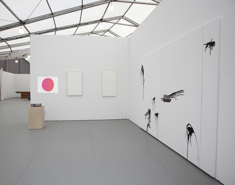 UNTITLED - Installation view, Steve Turner Contemporary, Booth C32, December 2012