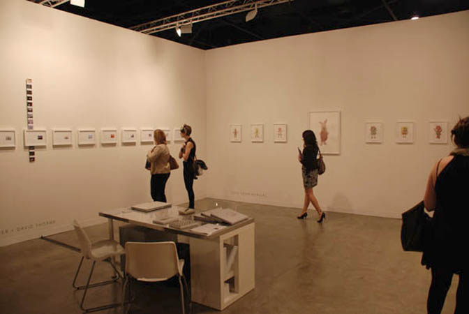 Art Basel Miami Beach, Installation view, Steve Turner Contemporary, Booth J-44, December 2009.