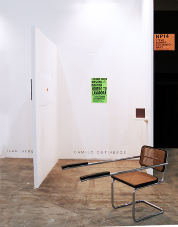 Zona Maco, Mexico City Installation view, Steve Turner Contemporary, Booth NP 14, April 2010.