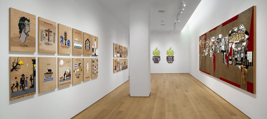 Christ You Know it Ain't Easy!!, Installation view, The Drawing Center, New York, January-February 2014.