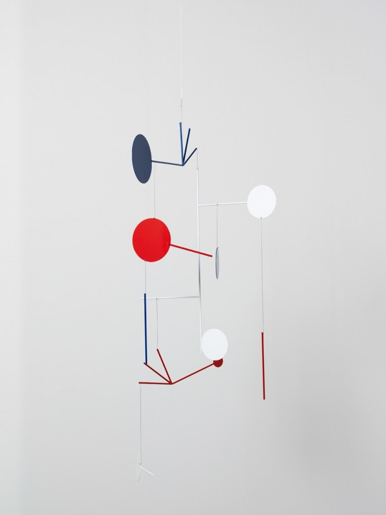 Edgar Orlaineta. American Visa, 2014. Powder coated steel, 57 x 43 3/4 inches