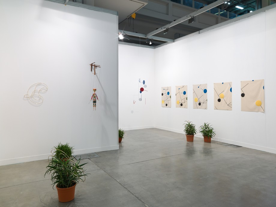 miart - Installation view, Steve Turner Contemporary, Booth B14, March 2014