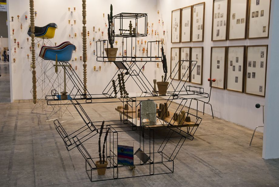 Zona Maco Sur, Mexico City - Installation view, Steve Turner Contemporary, Booth ZMS2, February 2014