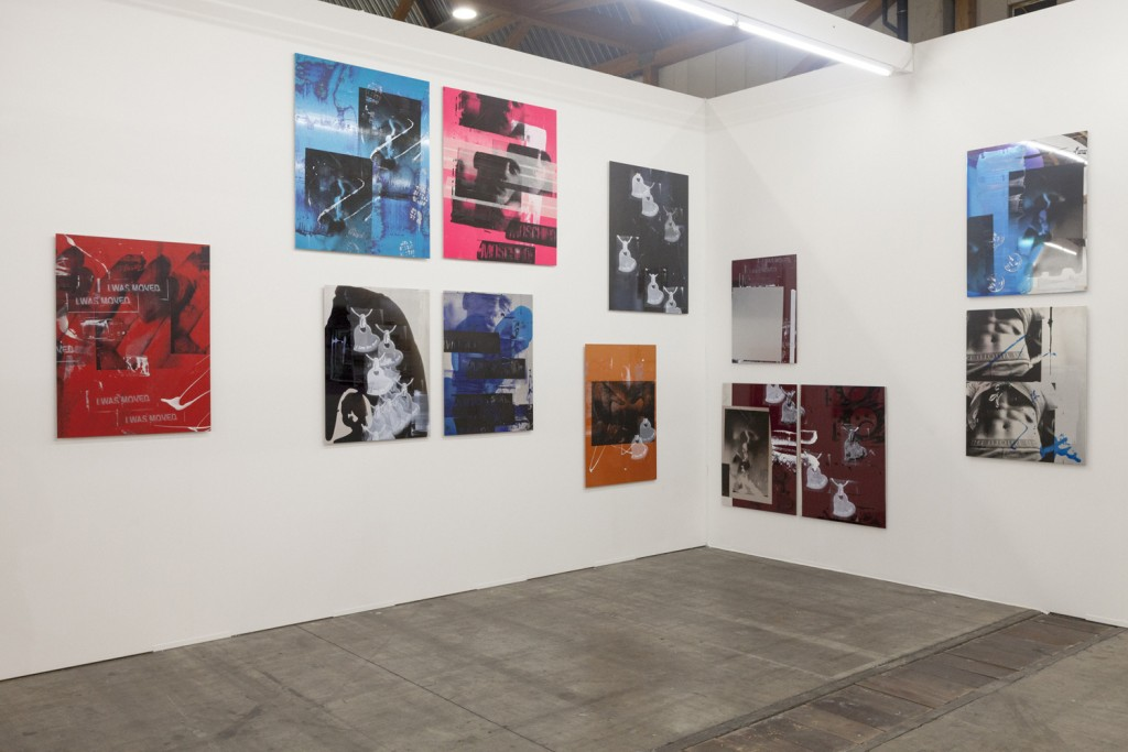 Art Brussels, Installation view, Steve Turner, April 2015
