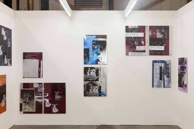 Art Brussels, Installation view, Steve Turner, April 2015