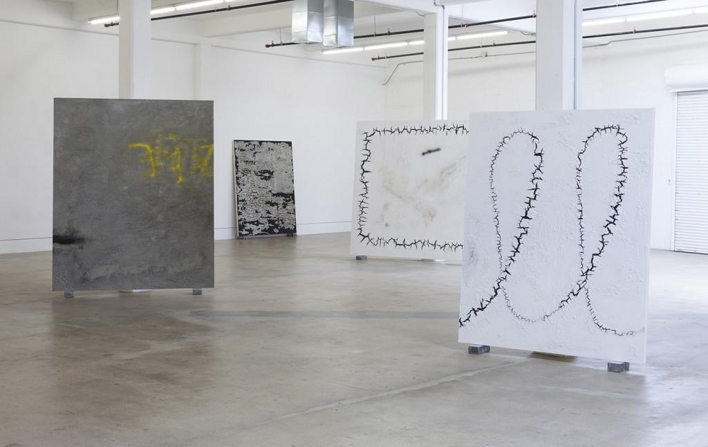 Ivan Comas, Open Studio, Steve Turner, Los Angeles, 2015