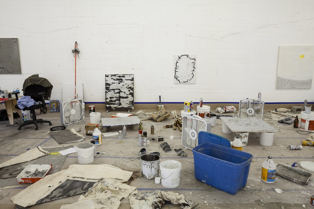 Ivan Comas, Open Studio, Steve Turner, Los Angeles, 2015