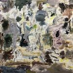 Joaquín Boz ,Untitled, 2020 Oil on panel 59 x 78 3/4 inches (150 x 200 cm)