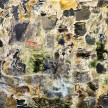 Joaquín Boz, <i>Untitled</i>, 2020 Oil on panel 74 x 94 1/2 inches  (188 x 240 cm) thumbnail
