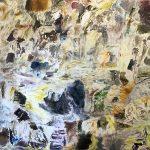 Joaquín Boz, Untitled, 2020 Oil on panel 74 x 93 3/4 inches (188 x 238 cm)