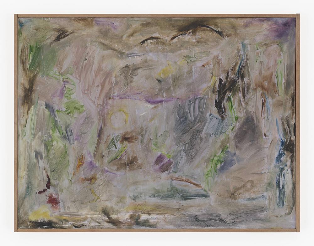 Joaquín Boz. <em>Untitled</em>, 2020. Oil on panel in artist's frame, 17 1/4 x 22 5/8 inches (43.7 x 57.5 cm)