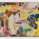 Joaquín Boz, Untitled, 2020 Oil on panel 16 7/8 x 20 1/4 inches (42.8 x 51.5 cm)