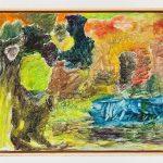 Joaquín Boz, Untitled , 2020 Oil on panel 11 3/4 x 14 1/2 inches (29.7 x 36.8 cm)