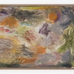 Joaquín Boz, Untitled, 2020 Oil on panel in artist's frame 13 3/8 x 17 7/8 inches (34 x 45.5 cm)