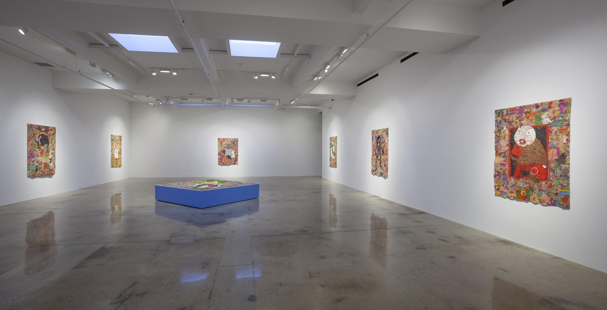 Camilo Restrepo, Steve Turner, Los Angeles, Medellín, Colombia, Colombian artist, Tight Rope, pastel on paper, contemporary colombian artist, contemporary art Colombia, contemporary art gallery los angeles
