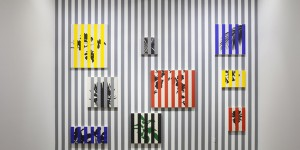 Otto Berchem, Colombia, Tropical Buren, Frieze NY, Frieze, Los Angeles, Buren, Daniel Buren
