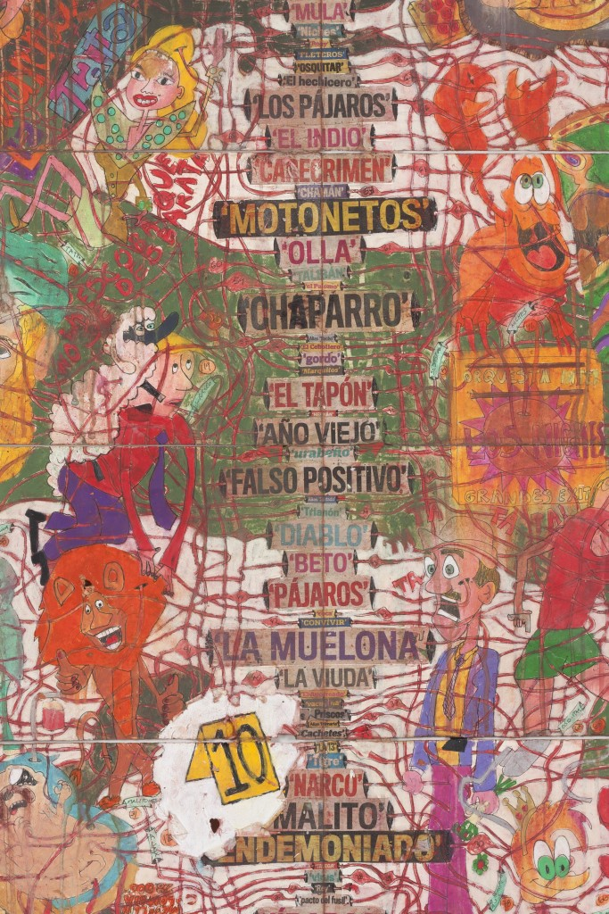 Camilo Restrepo, Colombian artist, Medellín, Camilo Restrepo artist, Colombia, Steve Turner, Los Angeles, narco, A Land Reform