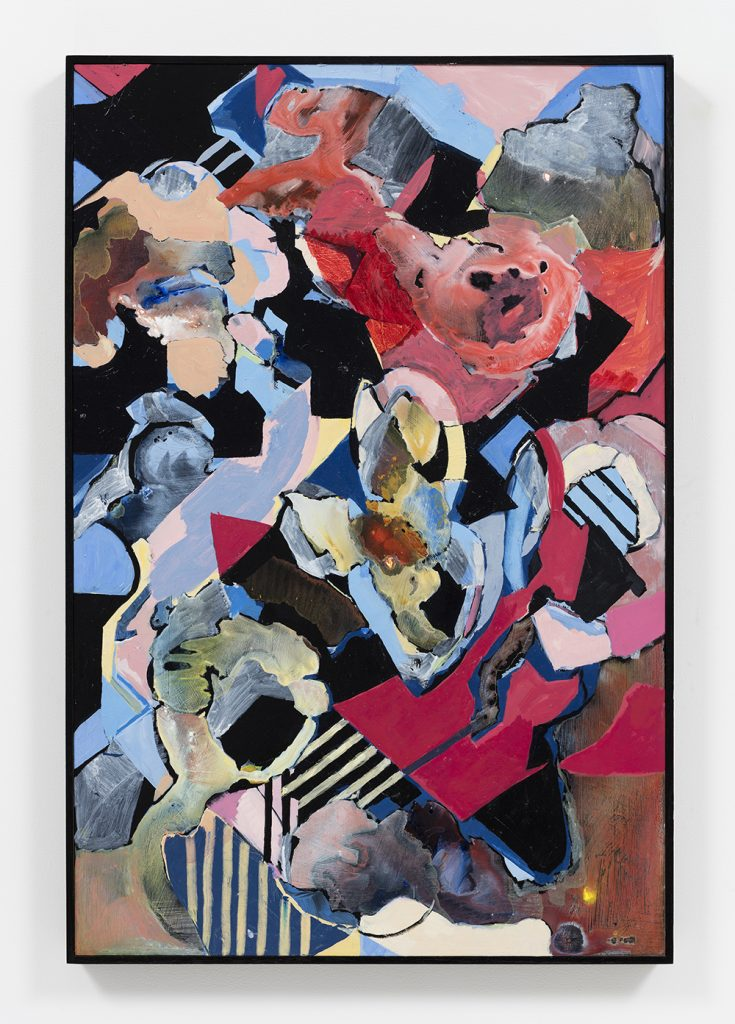 Nyah Isabel Cornish, Abstract painting, abstract painter, abstract, painter, composition, House of Cards, balance, Australian artist, Australian painter, abstract expressionist,