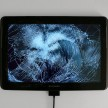 Émilie Brout & Maxime Marion. <em>Return of the Broken Screens (Apple iPhone 4)</em>, 2015. Broken found smart-phone, video, 4 3/4 x 2 1/4 inches (12.1 x 5.7 cm) thumbnail