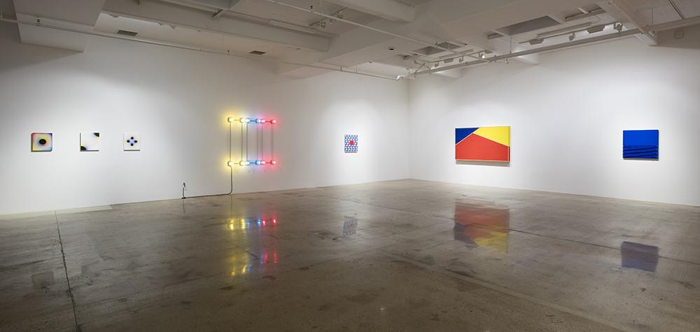 <em>CMYK</em>. Installation view, Steve Turner, 2017