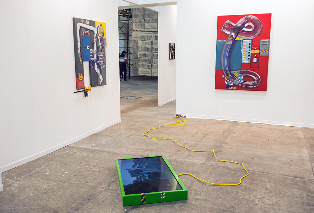 ZONA MACO, Mexico City. Installation view, February 2017