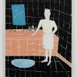 Claire Milbrath. <em>Gray's Bathroom</em>, 2016. Oil on canvas, 28 x 22 inches thumbnail