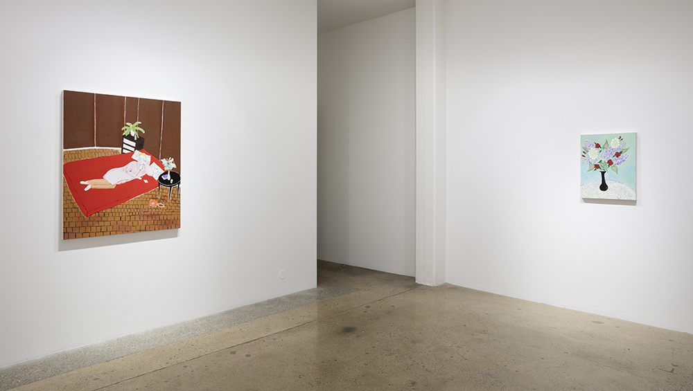 <em>Poor Gray: Domestic Scenes</em>. Installation view, Steve Turner, 2017