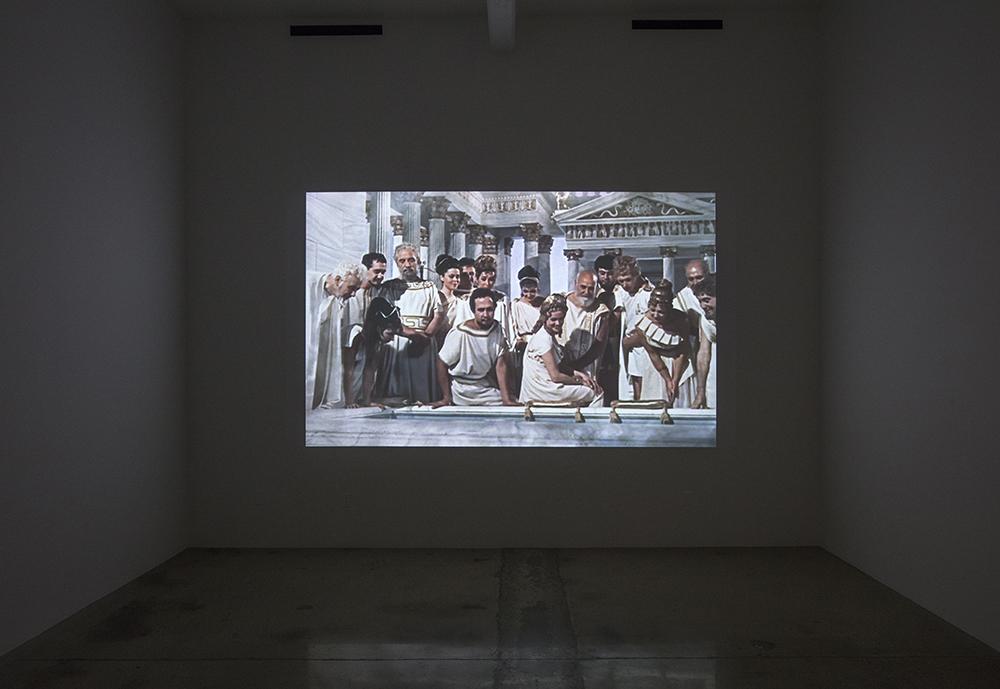 Émilie Brout & Maxime Marion. <em>Dérives</em>, 2011-14. Generative video installation