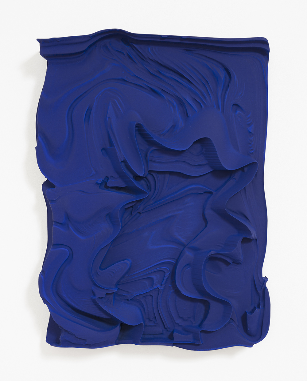 Michael Staniak. <em>OBJ_390</em>, 2017. Polyurethane resin and acrylic, 27 x 20 x 4 inches