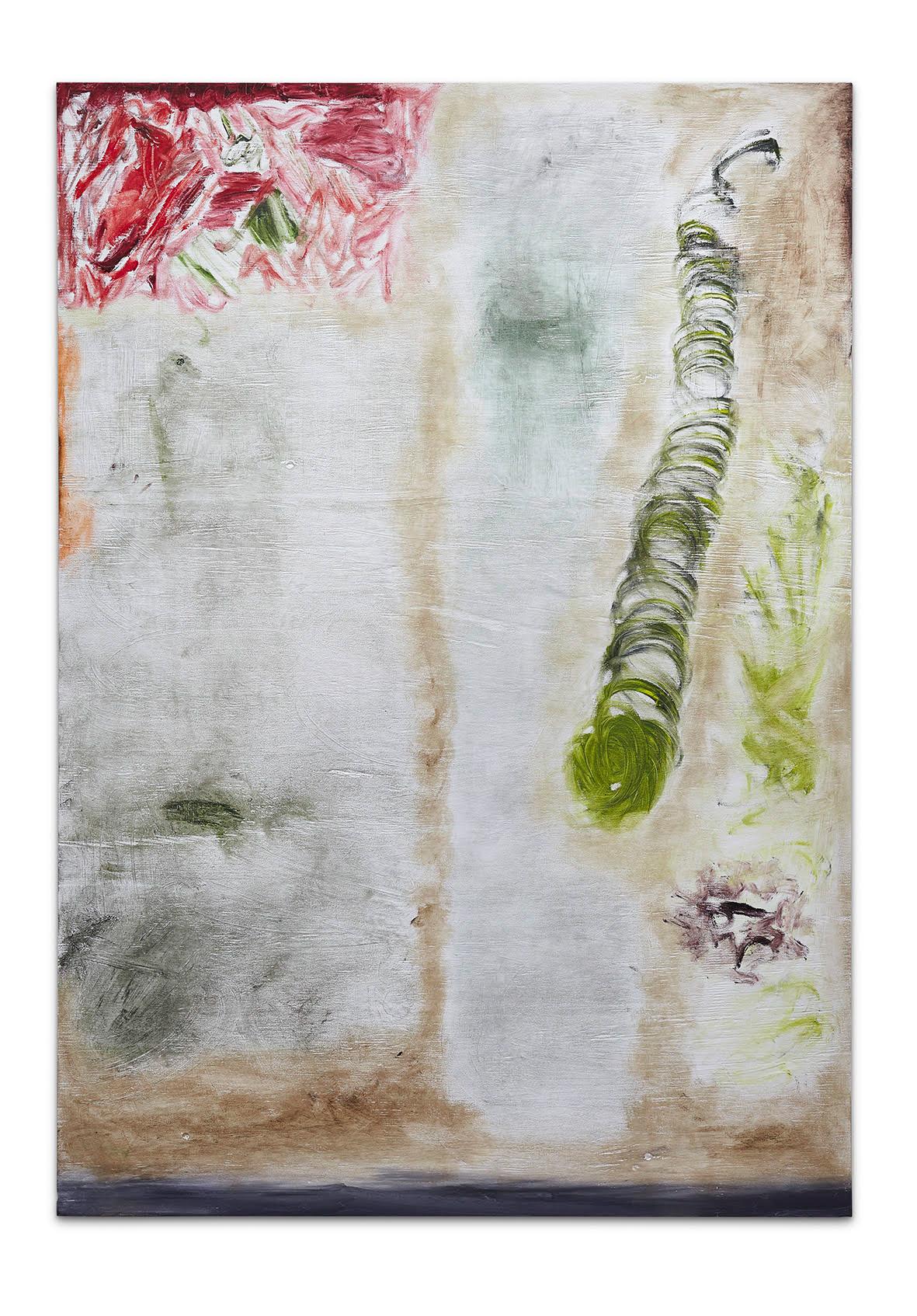 Joaquín Boz <em>Untitled</em>, 2017. Oil on panel, 53 x 37 1/2 inches (134.6 x 95.3 cm)