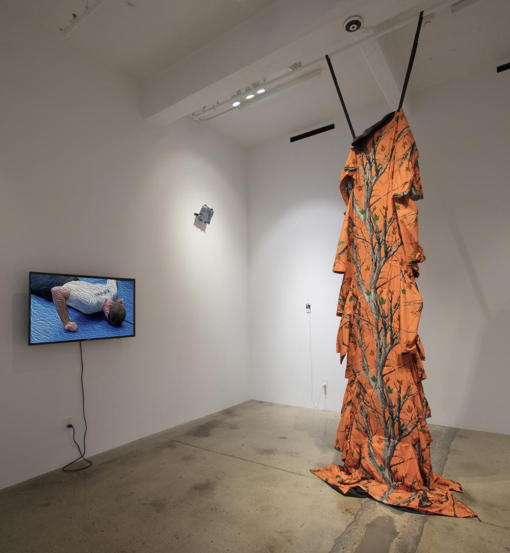 <em>Deliverance</em>. Installation view, Steve Turner, 2017
