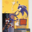 Yung Jake. <em>sonic (and amy rose and spike mario)</em>, 2017. UV print, spray paint, stickers, tape and ink on powder coated steel, found metal and monitor, 84 x 63 3/4 inches thumbnail