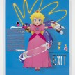Yung Jake. <em>princess peach (w eliza and toadette and amy rose)</em>, 2017. UV print, spray paint and stickers on powder coated steel and found metal, 45 x 37 1/2 inches thumbnail