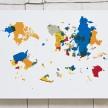 Emilio Chapela. <em>Euroasiaamérica</em>,  2014. Lithograph, 19 3/4 x 27 1/2 inches (50.2 x 69.9 cm) thumbnail