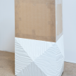 Matt Nichols. <EM>Reliquary</em>, 2013. Plywood, lacquer, oil paint and teak veneer, 22 x 18 x 16 inches (55.9 x 45.7 x 40.6 cm) thumbnail