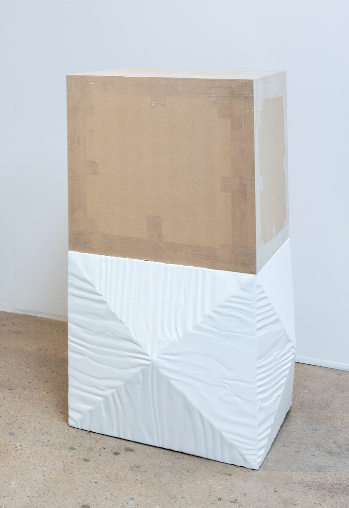Matt Nichols. <EM>Reliquary</em>, 2013. Plywood, lacquer, oil paint and teak veneer, 22 x 18 x 16 inches (55.9 x 45.7 x 40.6 cm)