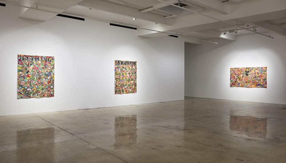 Camilo Restrepo. <em>Mera Calentura</em>. Installation view, Steve Turner, 2017