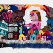 Hannah Epstein. <i>East Coast Dream Girl</i>, 2018. Wool, acrylic, cotton, polyester, and burlap, 45 x 71 inches  (114.3 x 180.3 cm) thumbnail