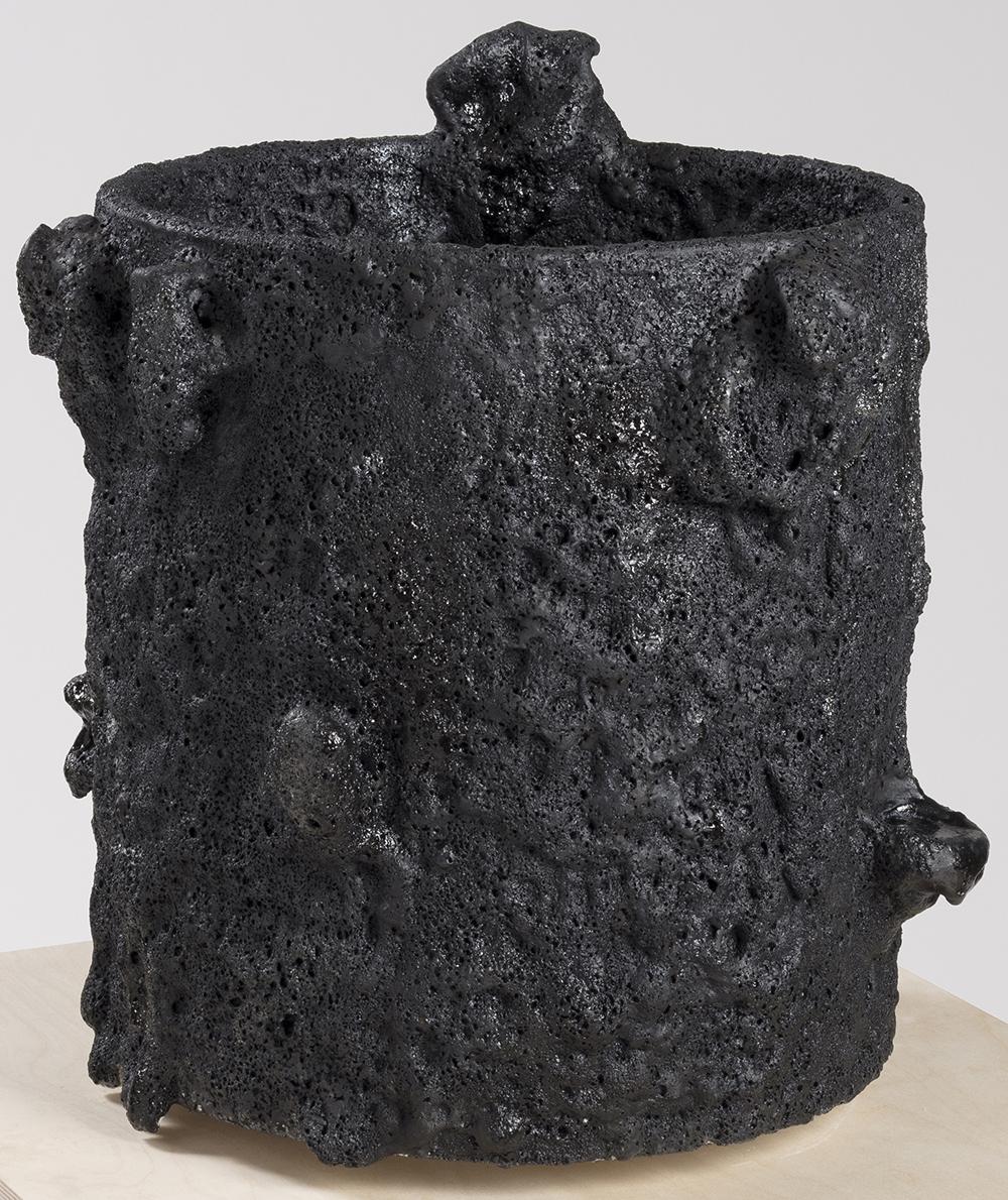 Tony Marsh. <em>Crucible Furiosa  4</em>, 2018. Ceramic, 22 x 22 x 22 inches (55.9 x 55.9 x 55.9 cm)