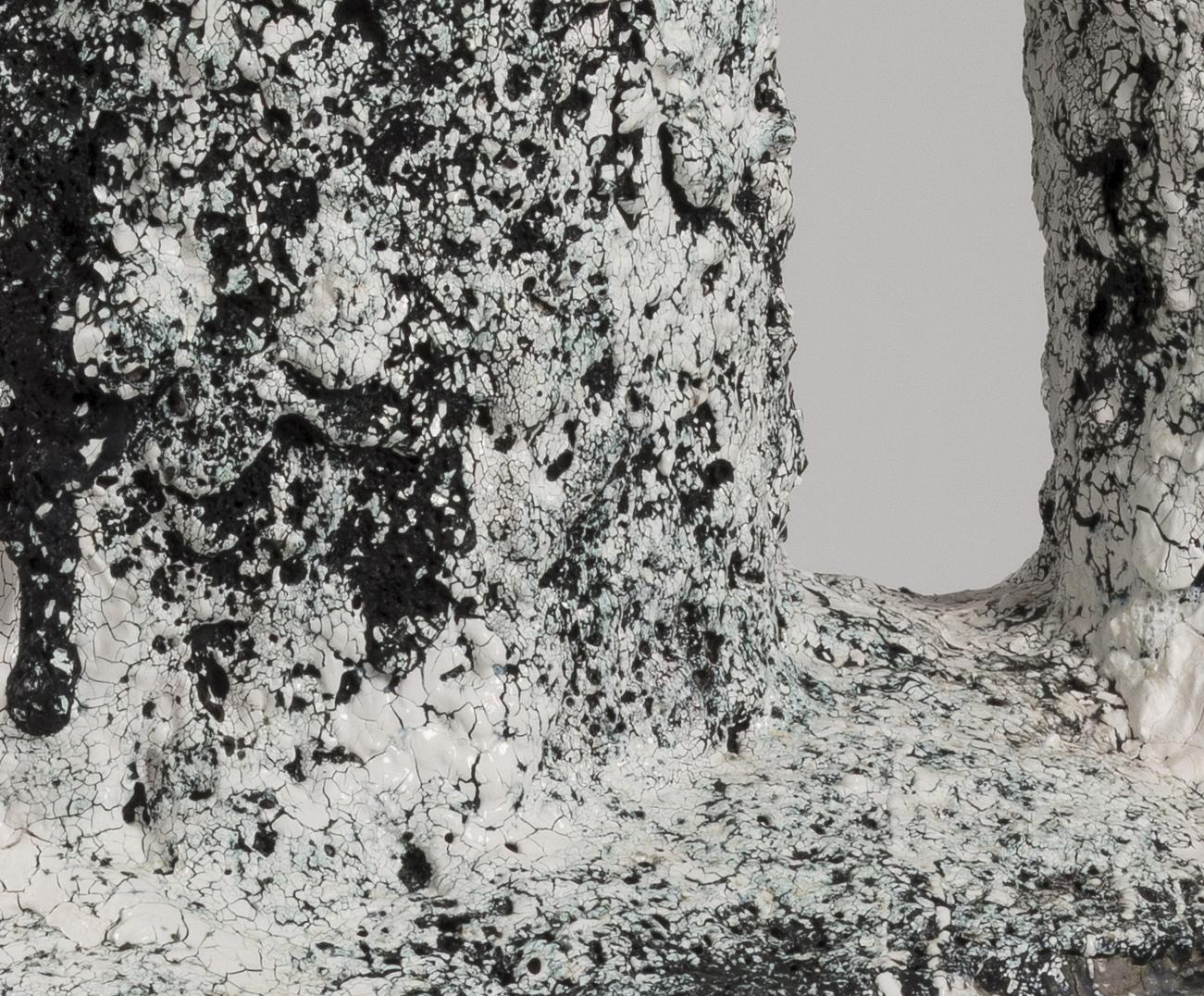 Tony Marsh. <em>Crucible Cham-Twin</em>, 2018. Ceramic, 21 x 34.5 x 23 inches (53.3 x 87.6 x 58.4 cm) Detail