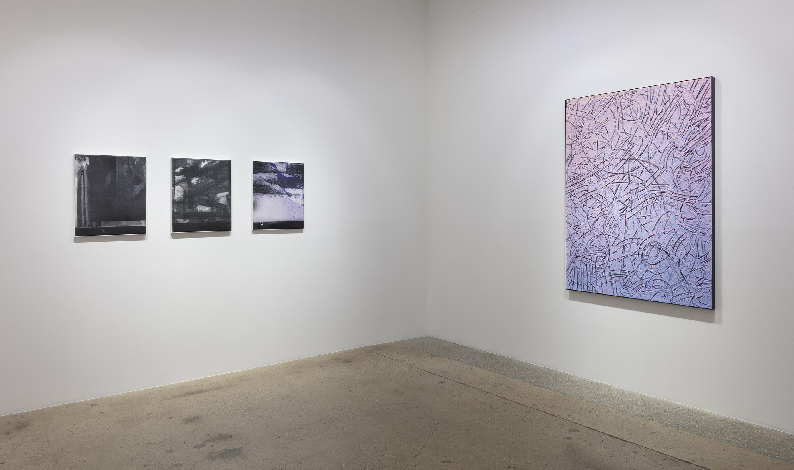 <em>Double Vision</em>. Installation view, Steve Turner, 2018